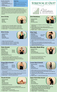 Stretch and Flex Program Fan Fold