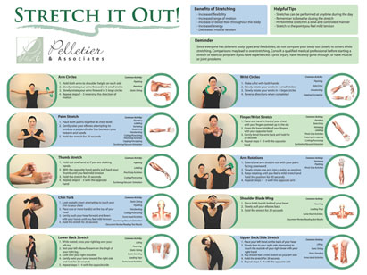 Stretch and Flex Program Poster